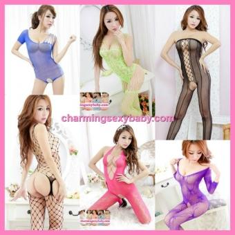 Sexy Fishnet Body Stocking Costume Hosiery Sexy Lingerie Sleepwear