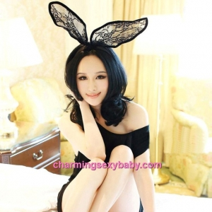 Sexy Lingerie Accessories Rabbit Hair Band Partywear Colsplay Costume BHM002