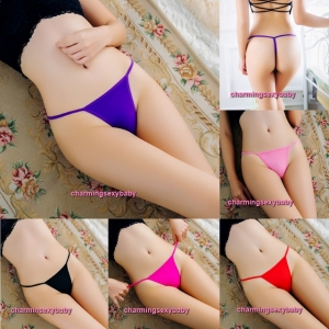 Sexy Women Underwear G-String Thong Panties T-Back Briefs Lingerie (5 Colors) LY165