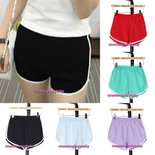 Women 95% Cotton Sport Shorts Yoga Gym Casual Slim Outdoor Running Jogging Soft Short Pants (8 Colors) QD166